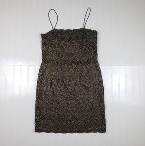 *Vintage* Oleg Cassini 90's mini formal dress